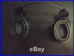 MSA Sordin with ARC RAIL PELTOR ADAPTER and gel ear cups