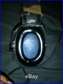 MSA sordin supreme pro IV Mil-Spec dynamic mic 75310 waterproof pre-owned