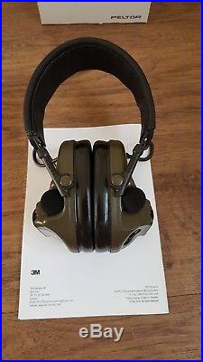 NEW 3M, Peltor, ComTac Electronic Ear Defence with Boom Mic