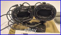 NEW Peltor ComTac III Electronic Headset FB Single Comm NATO MT17H682FB-47 CY 3M
