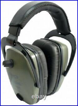 NEW Pro Ears GSPTSGREEN Tac Slim Gold NRR 28 Electronic Ear Muffs N Style