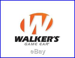 New Walkers Game Ear WGE-GWP-RSEM Razor Slim Electronic Shooting Muff Black