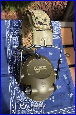 Peltor AOR2 Military Earmuff Electronic Hearing Protection Sordin MSA Lbt Crye