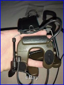Peltor COMTAC IV Olive 4 like SORDIN NSW DEVGRU AOR1 AOR2 CAG DELTA