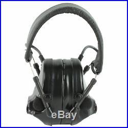 Peltor Comtac III Defender Electronic Ear Protection Black 20db NRR