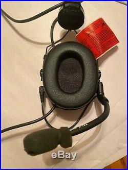 Peltor SWAT-TAC ACH Single Comm Headset ARC MT17H682P3AD-47 SV