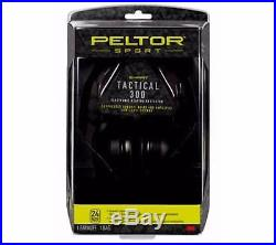 Peltor Sport Tactical 300 24db (NRR) Electronic Hearing Protector TAC300-OTH