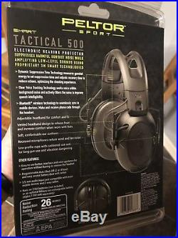 Peltor Sport Tactical 500 26db Bluetooth Electronic Earmuffs