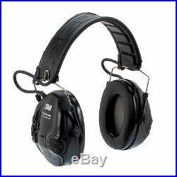 Peltor Sporttac Tactical Sport Headset with Standard Black Cups MT16H210F-479-SV