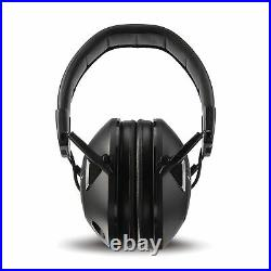 Peltor Tactical 100 Sport Electronic Ear Protection Black 22dB NRR