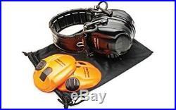 Peltor Tactical Sport Hearing Protector Foam 20DB Black/Orange Earmuff 97451
