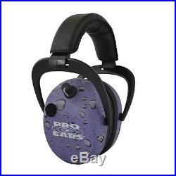 Pro Ears GSDSTLPUR Stalker Gold Ear Muffs 25 dBs Purple Rain