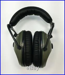 Pro Ears PRO-TAC PLUS GOLD Electronic Amplified CONTOURED Earmuff NRR 26