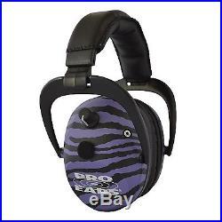 Pro-Ears Predator Gold Electronic Earmuff NRR-26 PurpleZebra