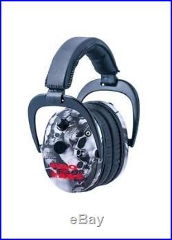 Pro-Ears Predator Gold NRR 26 Ear Muffs, Skulls GS-P300-SK GSP300SK