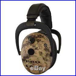 Pro Ears Predator Gold NRR 26dB, Highlander Camo-Electronic Ear Muff