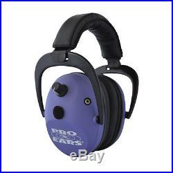 Pro Ears Predator Gold NRR 26dB, Purple-Electronic Hearing Protector/Ear Muff