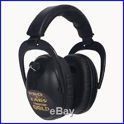 Pro Ears Predator Gold Series Ear Muffs Black GS-P300-B GS-P300-B