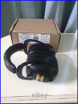 Pro Ears Pro Mag Gold Electronic Ear Muffs, Black, NRR 30, Brand New, Free Shipping