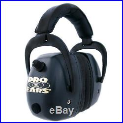 Pro Ears Pro Mag Gold NRR30, Black Electronic Hearing Protector