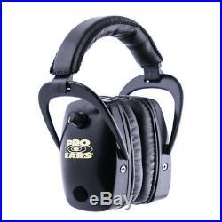 Pro Ears Pro Slim Gold Hearing Protection Earmuffs Black GS-DP-BLACK