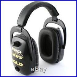 Pro Ears Pro Slim Gold Series Ear Muffs Black GS-DPS-B