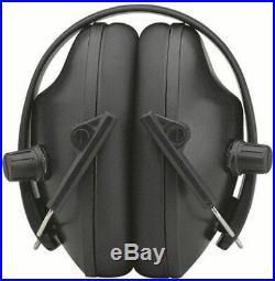 Pro Ears Pro Tac 200 NRR 19 Black Electronic Hearing Protection PT200-B Black