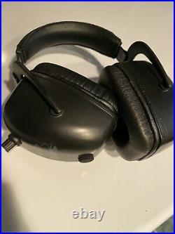 Pro Ears Pro Tac Mag Gold NRR 30 Hearing Protection Earmuffs, Black Grey GSPTMLB