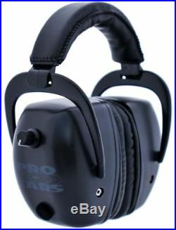 Pro Ears Pro Tac Mag Gold NRR 30 Hearing Protection Earmuffs, GS-PTM-L Black