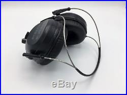 Pro Ears Pro Tac Plus Gold NRR 26dB, Behind The Head, Lithium 123 Battery, Black