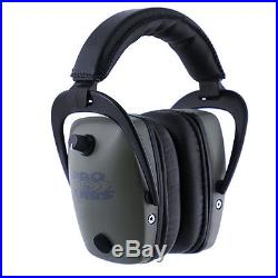 Pro Ears Pro Tac Slim Gold Green NRR 28 Electronic Hearing Protector