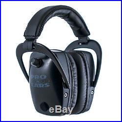 Pro Ears Pro Tac Slim Gold NRR 28 Black Electronic Hearing Protector
