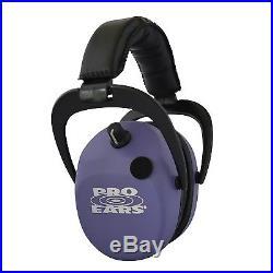 Pro Ears Stalker Gold Hear Protection Headset Purple