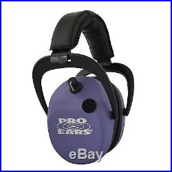 Pro Ears Stalker Gold Hear Protection Headset Purple GSDSTLPU