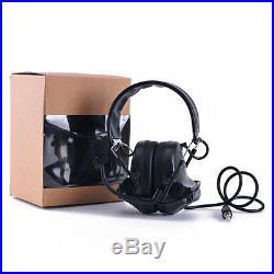 Protection Hearing Ear Shooting Muffs Noise Earmuffs Safety Gun Range Reduction