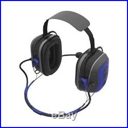 SM1XESRU Electronic Ear Muff, 23dB, Behind-the-N, Bl