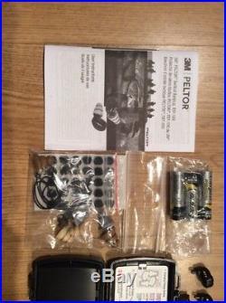 SUPER NICE 3M PELTOR TEP-100 Tactical Digital Earplug Full kit used one time