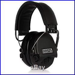 Safety Ear Muffs MSA Sordin Supreme Pro Electronic Earmuff For Hunting Black