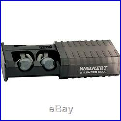 Silencer Rechargeable Electronic Black/Gray Earplugs