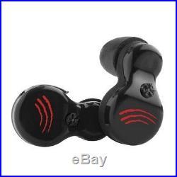 SportEar GS1-Black Ghost Stryke Hearing Protection Black