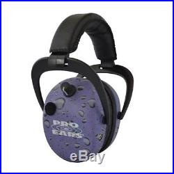 Stalker Gold Electronic Hearing Protection and Amplification Earmuffs NRR 25 Pur