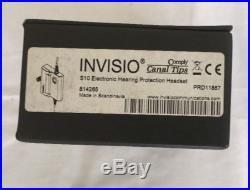 TEA Invisio S10 In Ear Headset System MODEL INV S10-U93