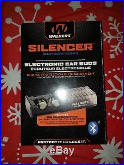 WALKER'S ELECTRONIC Silencer EAR BUDS! BLUETOOTH! GWP-SLCR-BT