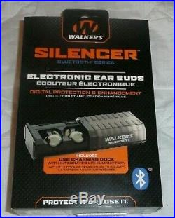WALKER'S ELECTRONIC Silencer EAR BUDS BLUETOOTH GWP-SLCR-BT