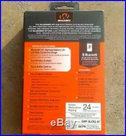 WALKER'S SILENCER BT 2.0 Ear Buds NRR 24 Bluetooth 5.0 Smart GWP-SLCR2-BT