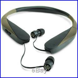 Walker's GWP-NHE RAZOR X NECK HEARING ENHANCEMENT / RETRACTABLE EAR BUDS