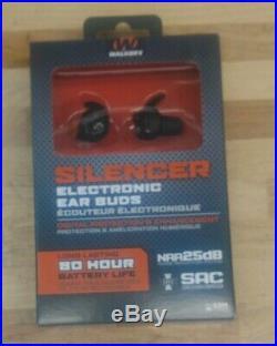 Walker's GWP-SLCR Silencer Ear Bud Digital Protection & Enhancement Walkers