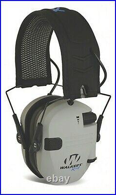 Walker's GWP-XDRSEM-BT-GY Firemax Electronic Grey Earmuff