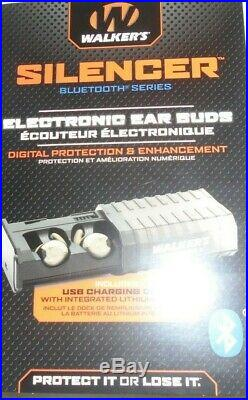 Walker's Game Ear Buds Silencer BT Bluetooth Series! Electronic ear protection