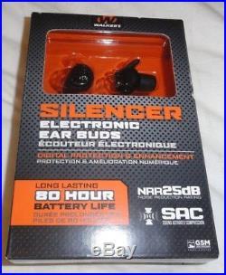 Walker's Game Ear In-Ear Razor Silencer Electronic Earbud Set GWP-SLCR